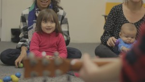 music class for babies and toddlers