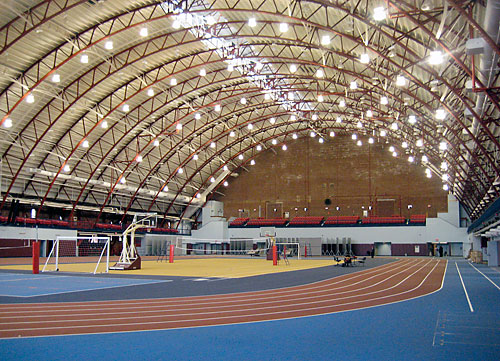Armory interior (photo grom Brooklyn Paper)