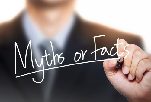 real estate agent writing myths or facts