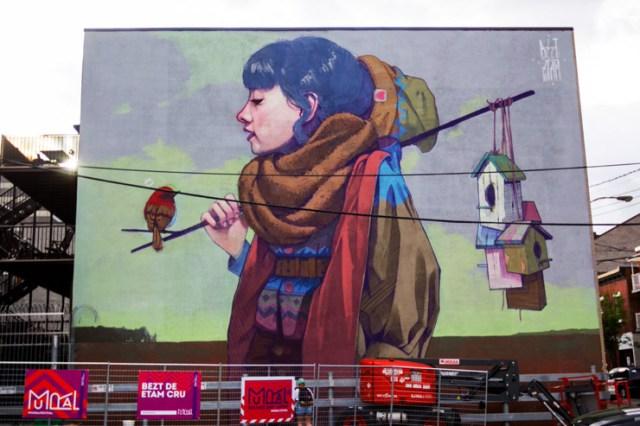 mural festival canada ile ilgili görsel sonucu