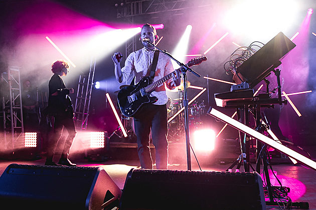 M83 On Tour With YACHT Underway Pics Setlist From Austin