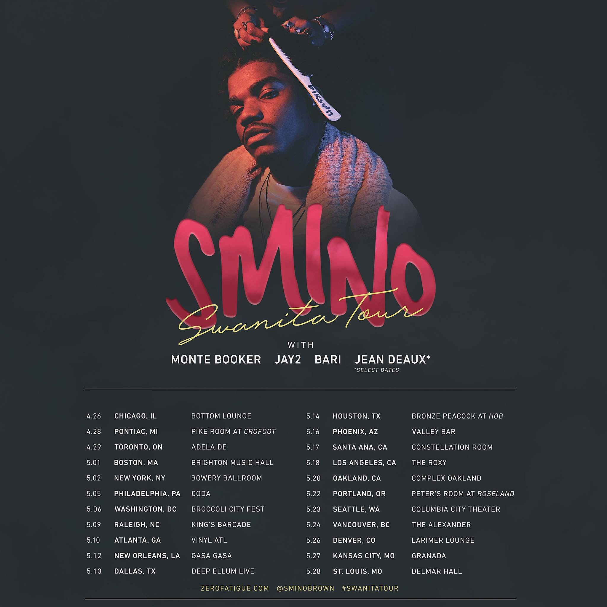 Image result for Smino tour