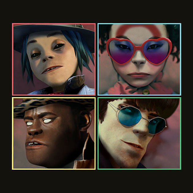 Image result for gorillaz humanz# album cover