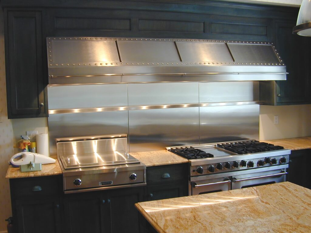 Stainless Steel Countertop Brooks Custom