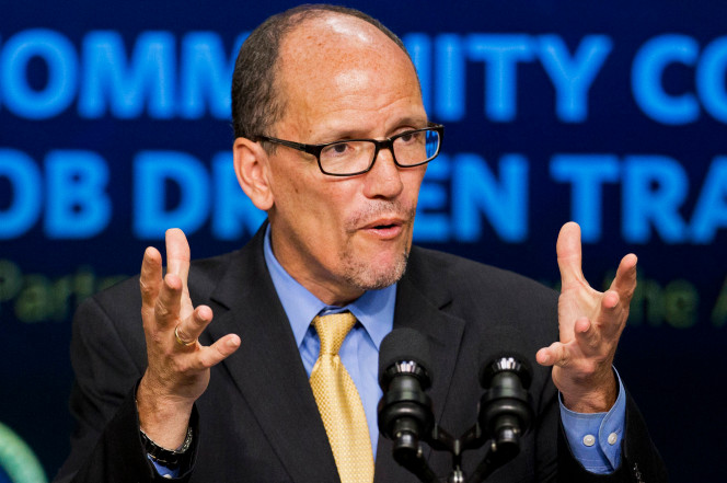 Newly-Elected DNC Chair Tom Perez Has Tough Message For Donald Trump