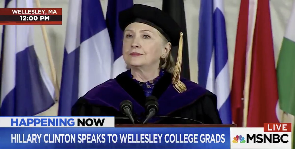 Hillary Clinton's Stunning Indictment of Donald Trump at Wellesley College