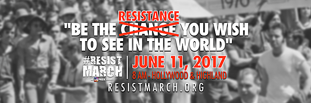 Pride Month! Resist and March with Bros4America