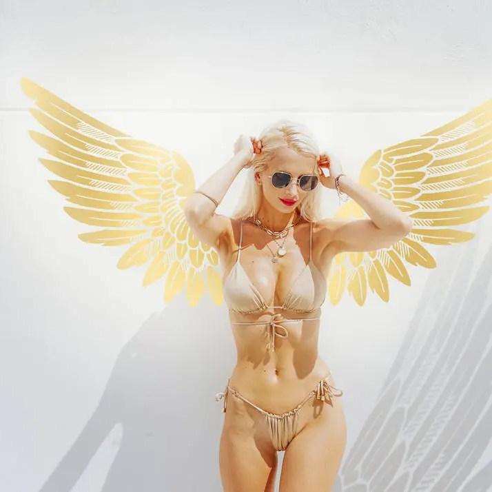 Loe Moshkovska Angel Bikini