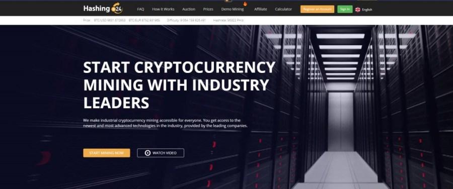 Hashing24 Cloud Mining