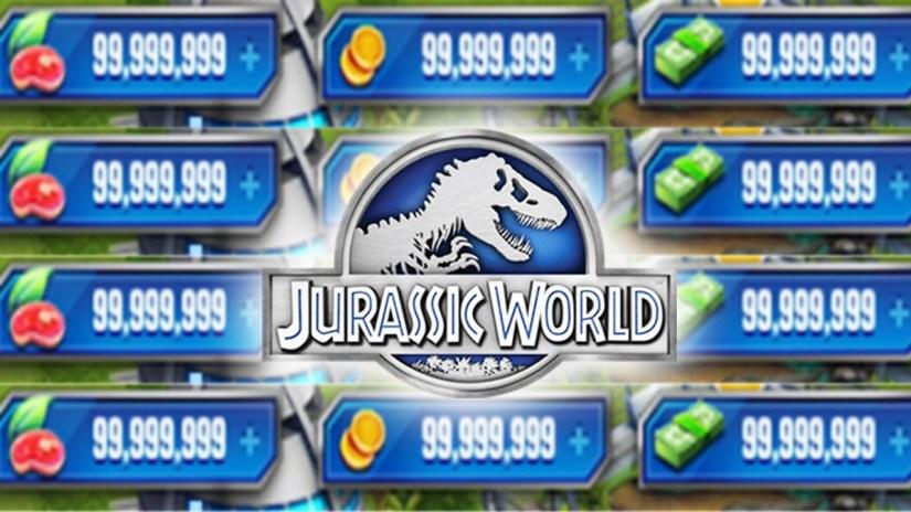 jurassic world alive hack apk
