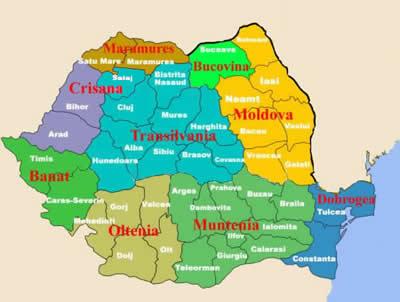 Image result for harta romaniei pe regiuni