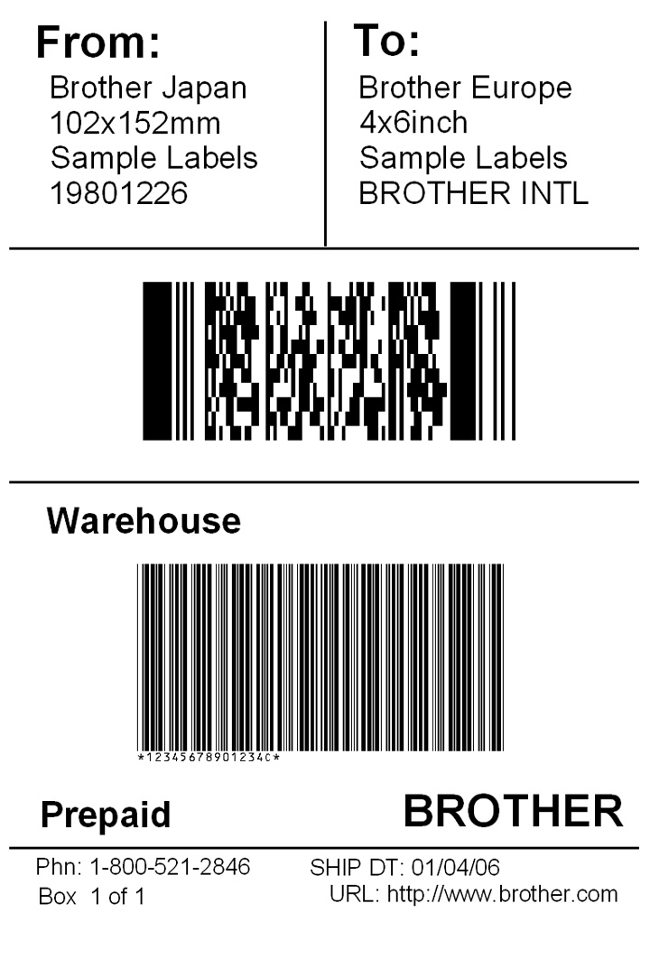 21  free shipping label template
