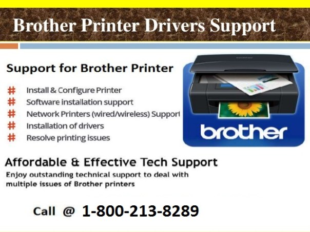 brother printer error support phone number