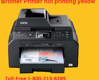Brother Printer not printing yellow Issues