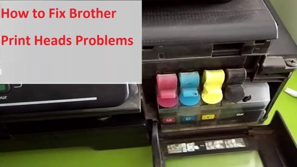 Brother Print Heads Problems