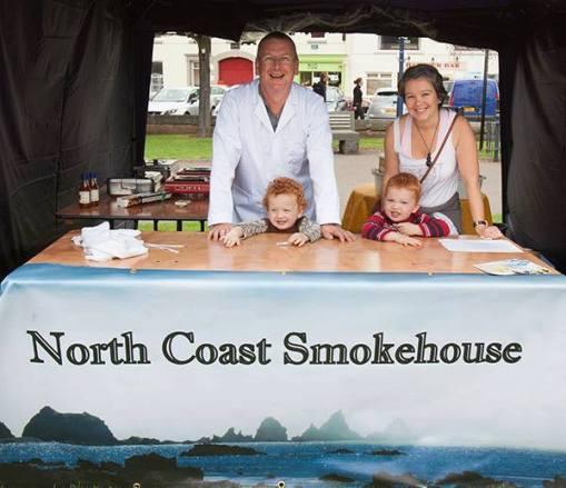 curing smoking fish class course ireland. north coast smokehouse