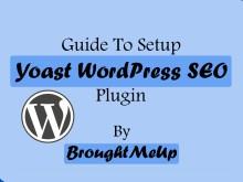 Setup WordPress SEO Plugin By Yoast