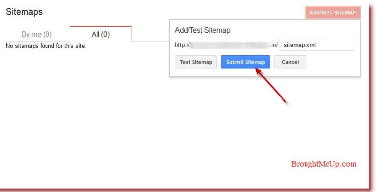 Submitting sitemaps to google in google webmaster tool