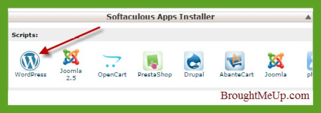 softaculous-wordpress-install