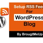 How To Burn Feed Using FeedBurner For WordPress