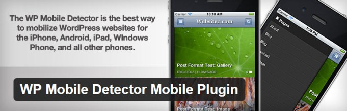 wp mobile detector plugin for mobile friendly site