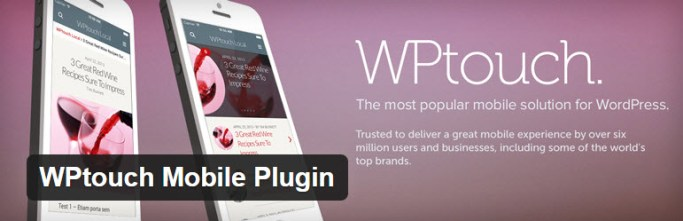 wp touch plugin for mobile friendly site
