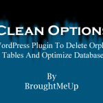 Clean Options WordPress Plugin To Delete Orphan Tables From Database