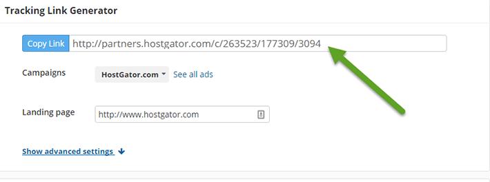 Hostgator affiliate link
