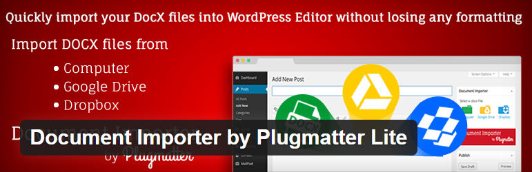 Document importer To Import Word Document To WordPress