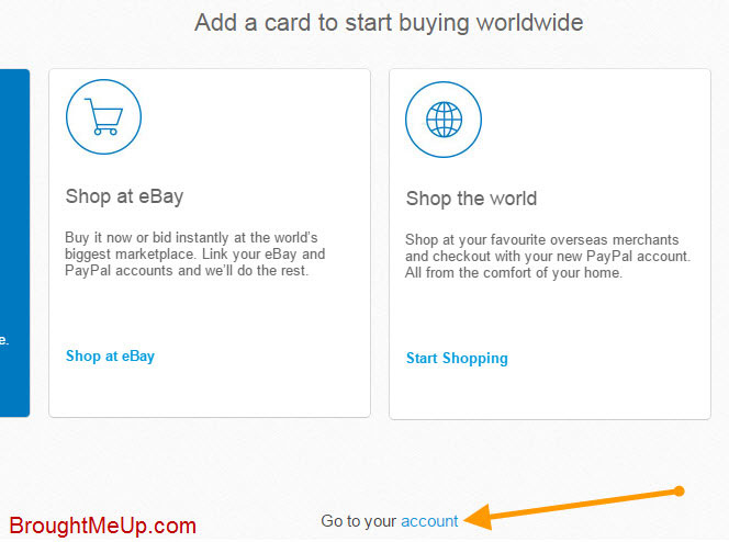 go to PayPal dashboard