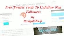 Free Unfollow twitter tools to unfollow non-followers