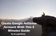Create A Google AdSense Account