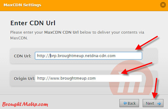 integrate MaxCDN with WP fastest Cache
