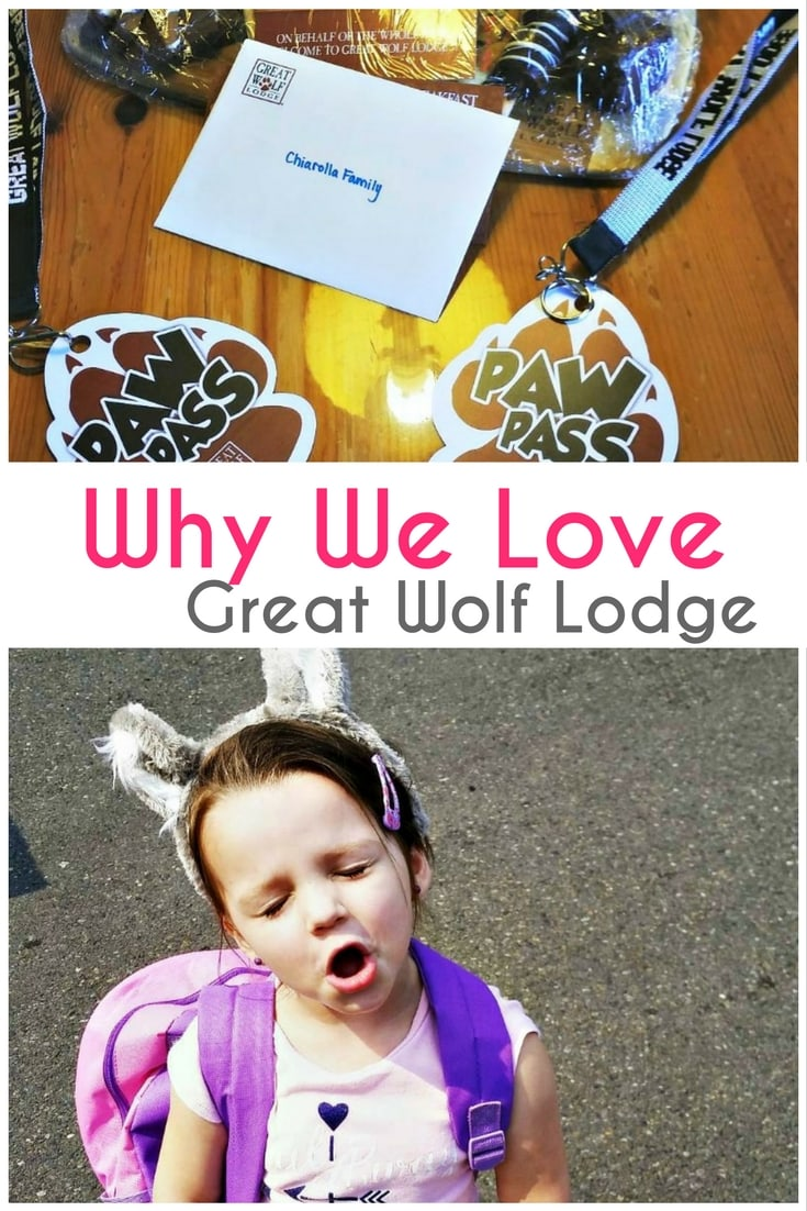 Great Wolf Lodge is a great selection for any family, any age to have a great vacation. Check out why we love Great Wolf Lodge!