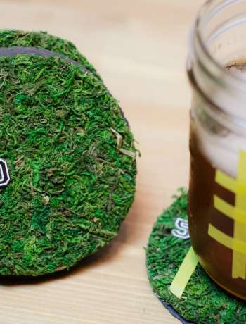 These DIY Tailgate Party Coasters are easy to make and fun to add to your Super Bowl Party this February. Enjoy the game with this decor craft idea and simple tutorial.