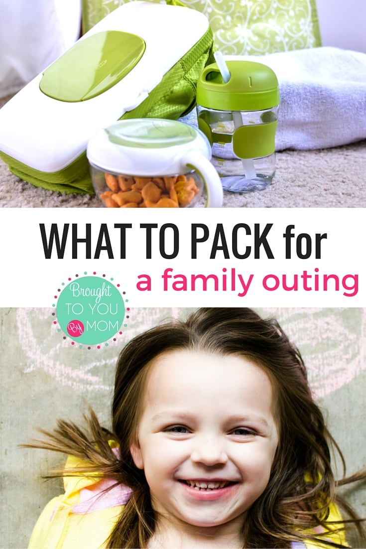 What to Pack for a Family Outing. Ideas for what to pack to get outside and have more fun this spring and summer.