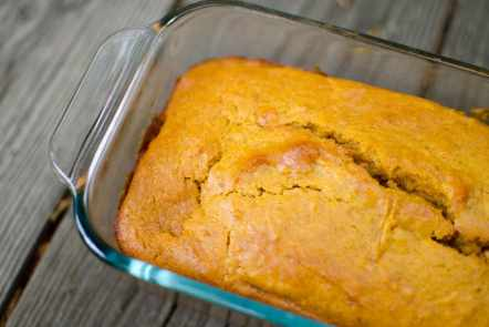 This No Egg Pumpkin Bread recipe is easy to make. Great for those with egg allergens. A fall food favorite.