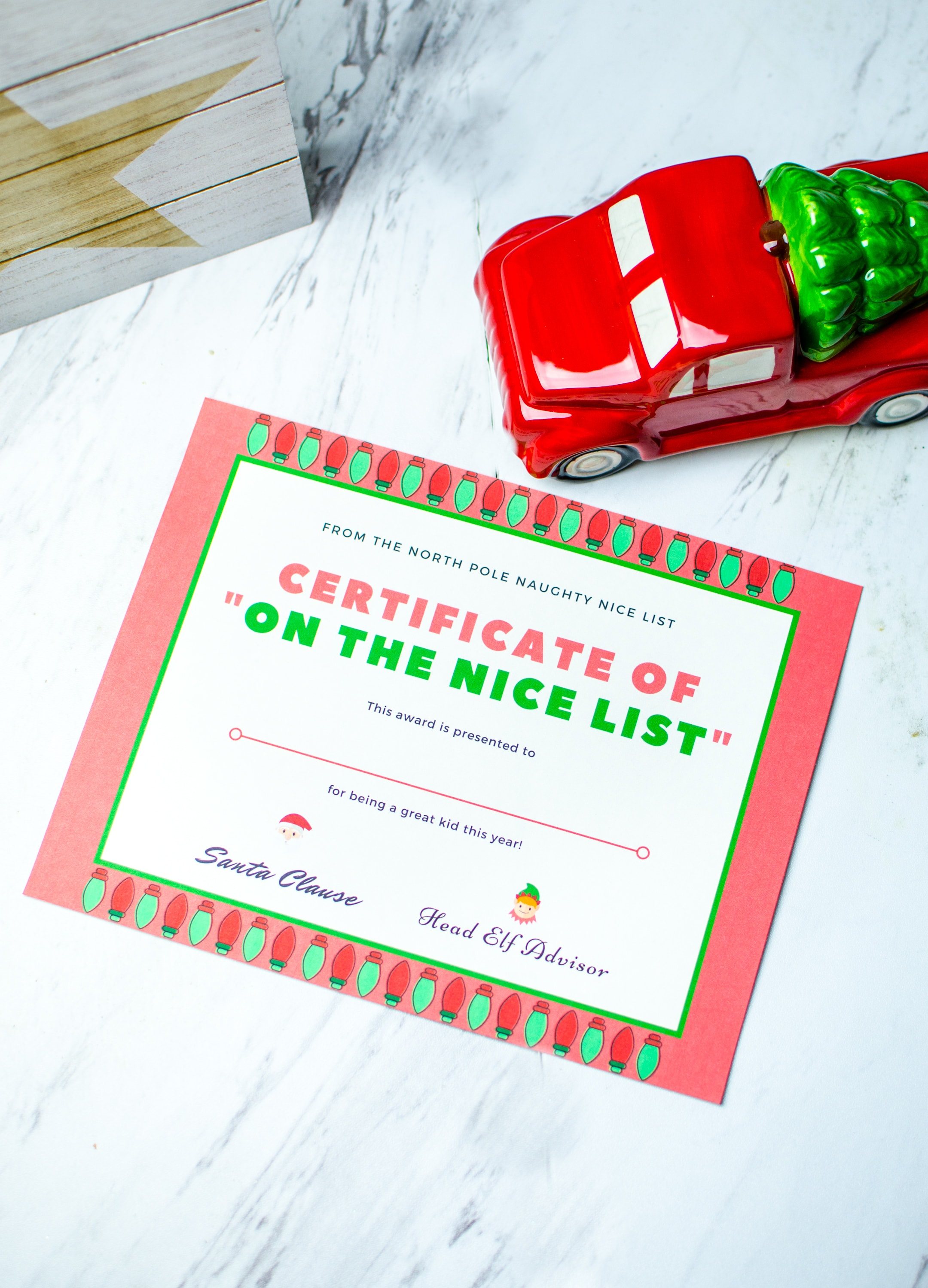 Free santa good list certificate brought to you by mom free santa good list certificate xflitez Gallery