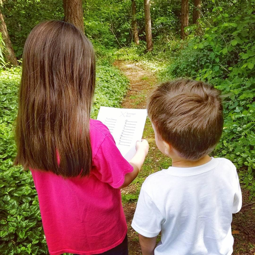 Free Printable Outdoor Scavenger Hunt For Kids And Family