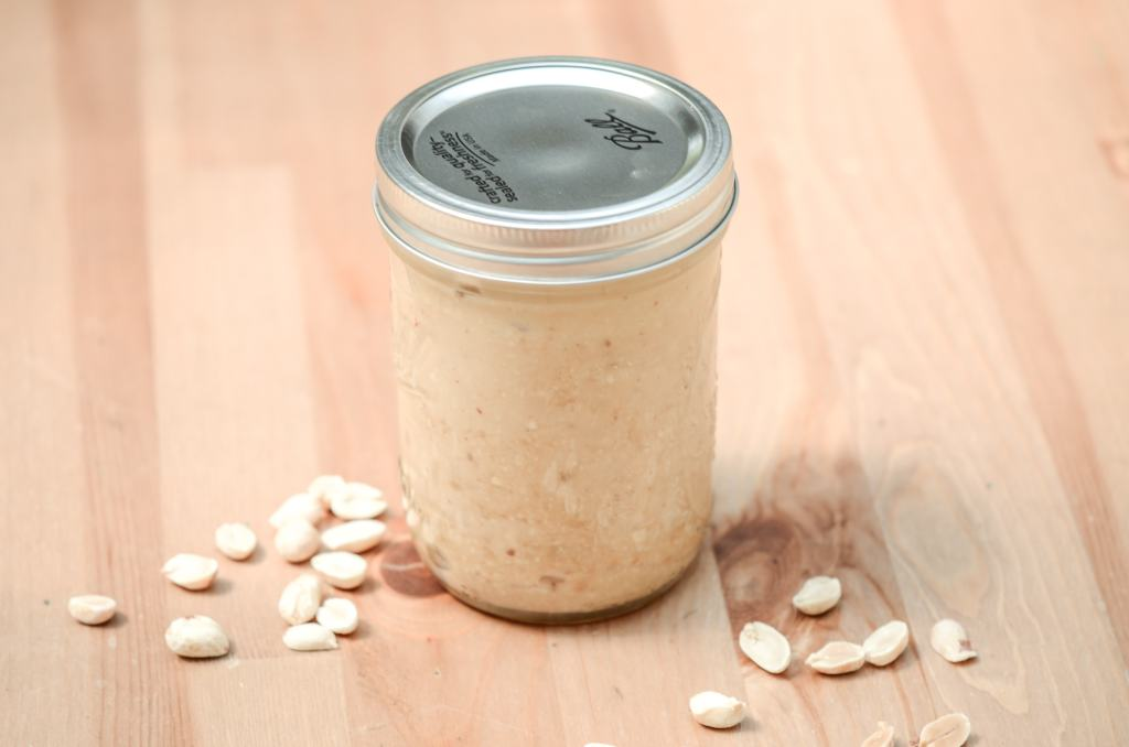 Homemade Peanut Butter is simple to make. Know what is going into your food by mixing these easy ingredients together for a classic.