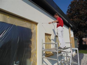 Onderhoud gevel stucwerk - Brouwer Schilders Dalfsen