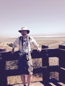 Steve with sloughs (rhymes with you) from Don Edwards SF Bay national Wildlife Refuge