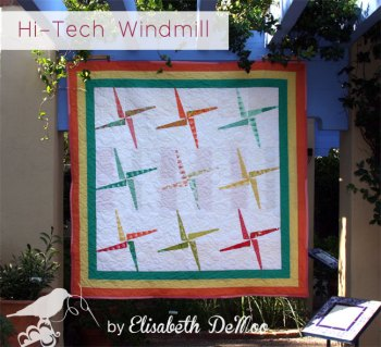 hi-tech windmill quilt
