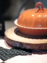 Crate & Barrel pumpkin pot