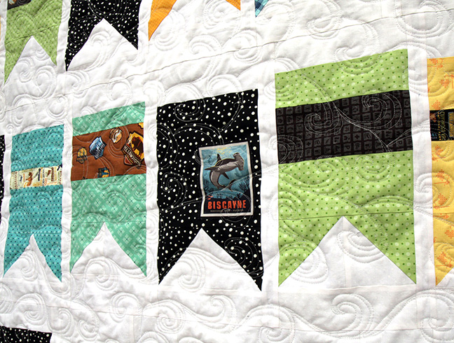 Summer Bunting Quilt