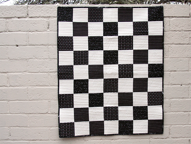 Chess Board Quilt full view
