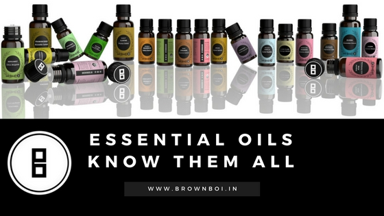 Essential Oils For Skin & Hair