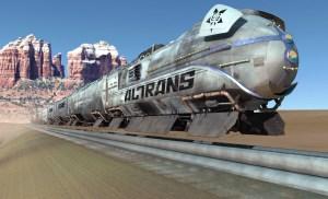 The Train Job Altrans Train