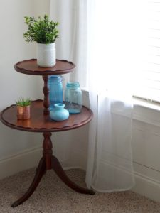 Table Makeover with Milk Paint