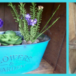 DIY Dollar store planter makeover with spray paint